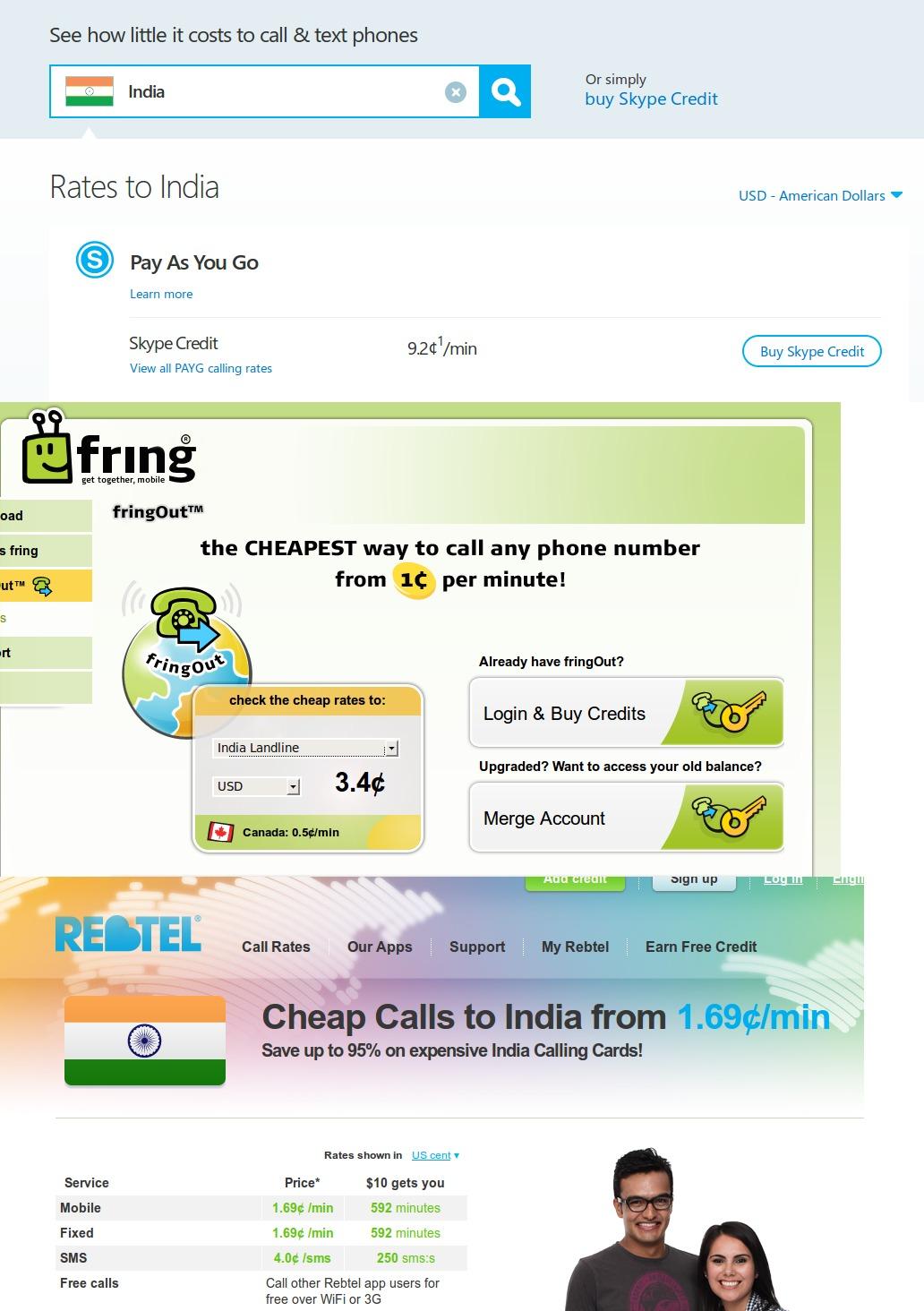 http://evuraan.info/screenshots/images/skype_vs_fring_vs_rebtel.jpg